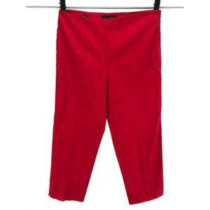 Talbots Size 8 Petite Heritage Fit Pants Red